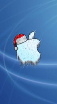 12 - logo-apple-ghiacciato-luccicante-con-cappello-di-natale.png