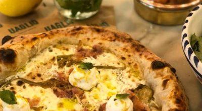 Uagliò e la pizza napoletana a portafoglio a Torino