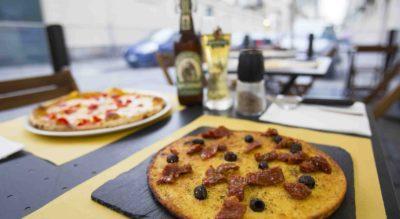 Pizzeria ad Hoc a Torino per la pizza con bagna cauda piemontese