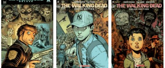 The walking dead - color edition