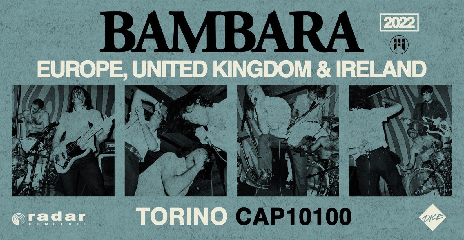 Bambara al Cap10100 a Torino