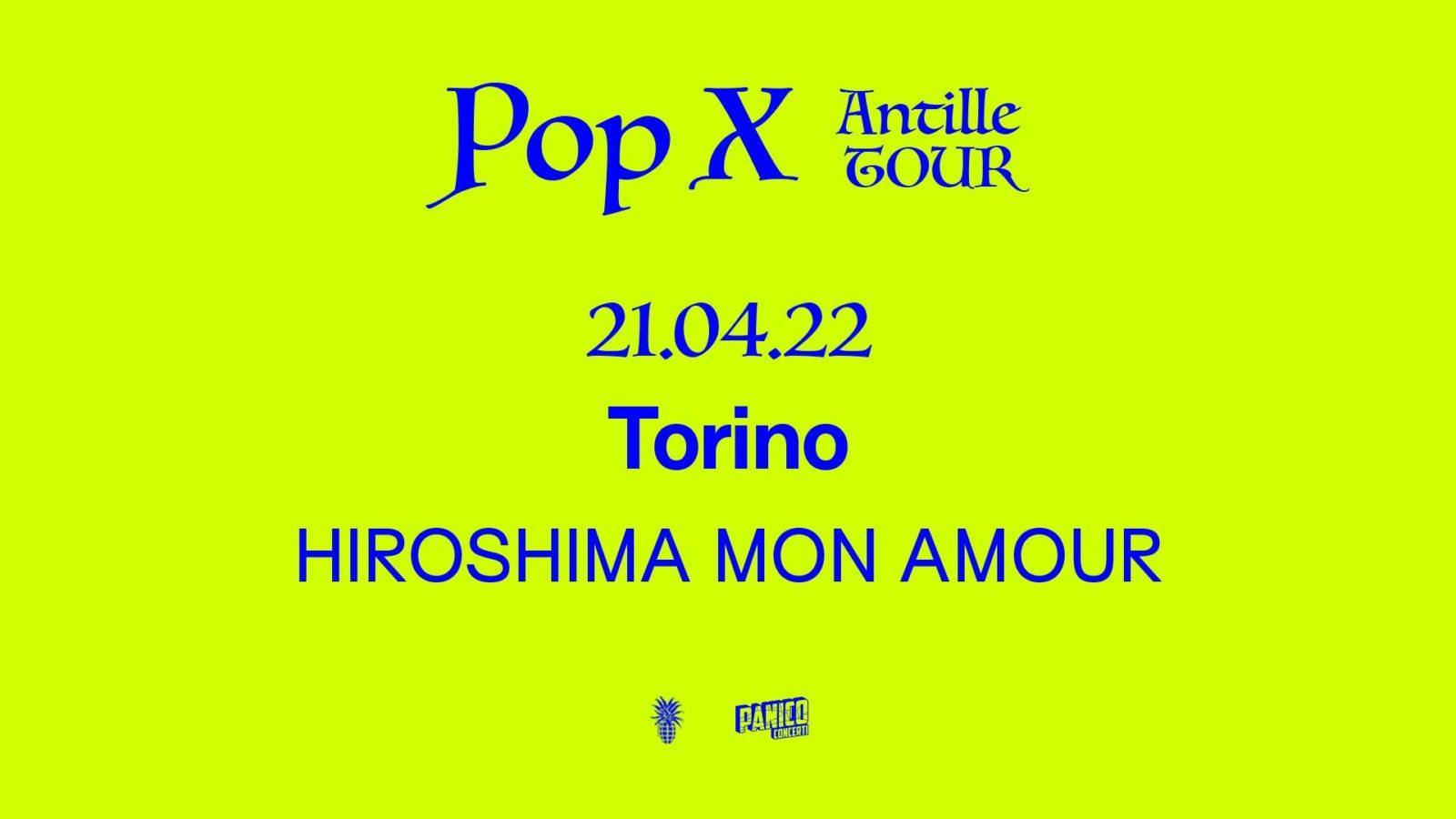 Pop X / Hiroshima Sound Garden