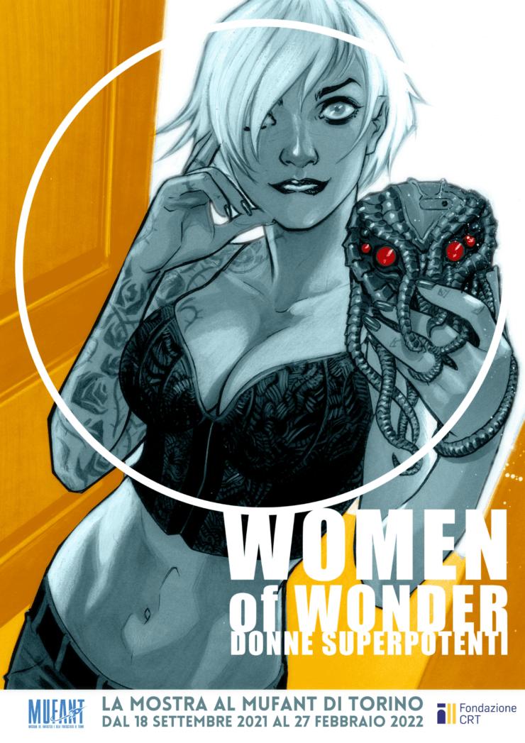 Women of Wonder - Donne superpotenti al Mufant di Torino
