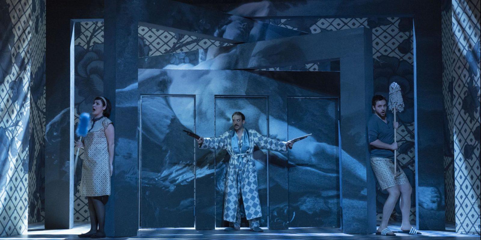 """Per la nuova Stagione d'Opera e di Balletto 2022 presentata dal Teatro Regio lo spettacolo """"La scuola de' gelosi""""."""